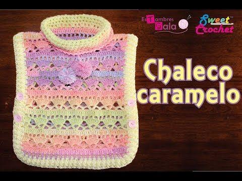 Chaleco Crochet con Cuello Tortuga / Tutorial en Español | Patrones ...
