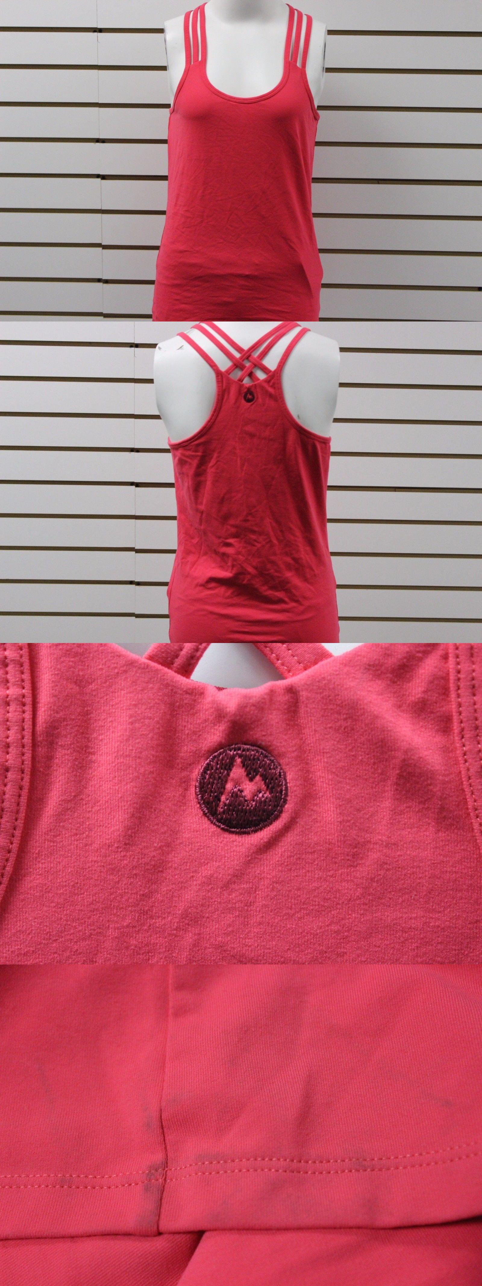 Shirts women s marmot vogue tank summer pink brand new
