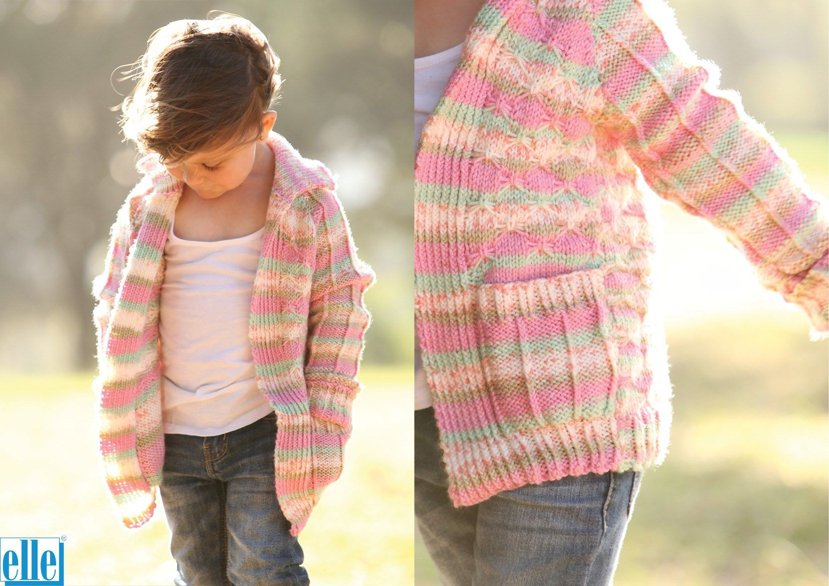 "GIRLS  EASY KNIT  JUMPER  Knitting Pattern DK NO 58 22-30  /"" BOYS"