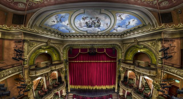 The Colonial Theatre stage by Frank Grace.