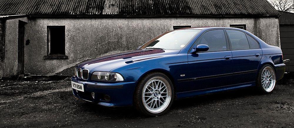 Bmw E39 M5 Deep Blue Bmw Bmw E39 Bmw Wheels