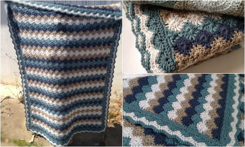 Harlequin Crochet Pinterest Stitch Blanket And Free Pattern