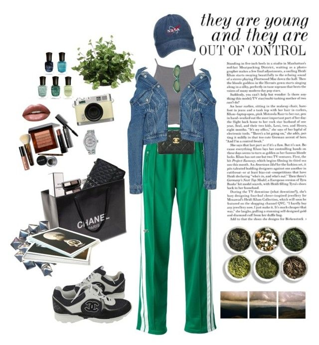"""Untitled #134"" by mint-bodyslam ❤ liked on Polyvore featuring Étoile Isabel Marant, NLY Trend, Chanel, Balenciaga, Bobbi Brown Cosmetics, Huda Beauty, Rolex, Retrò, Sonia Rykiel and Tea Collection"