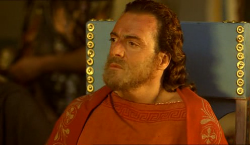 "Armand Assante as King Odysseus in ""The Odyssey"" (1997)"