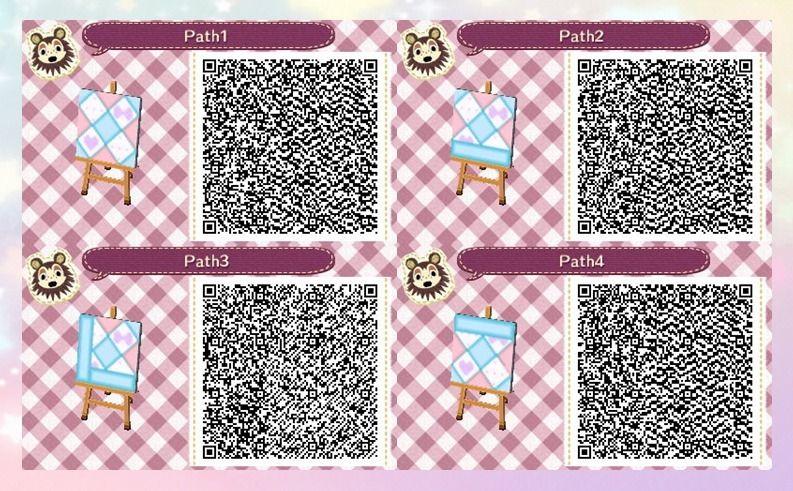 Animal Crossing New Leaf Hhd Qr Code Paths Animal Crossing