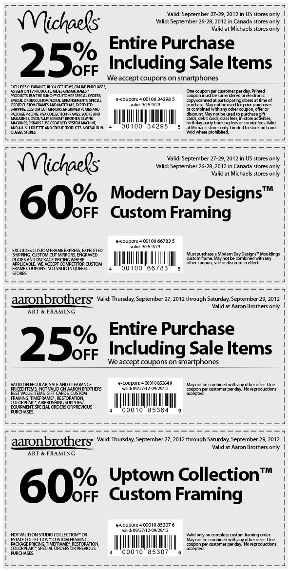 25 Off Everything Including Sale More At Michaels Coupon Via The Coupons App Coupon Apps