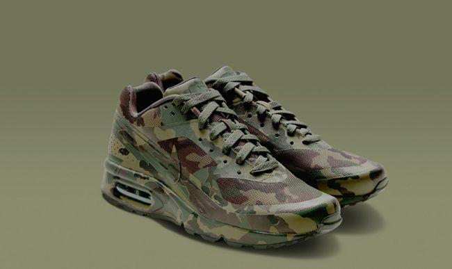 zapatos nike air max camuflados