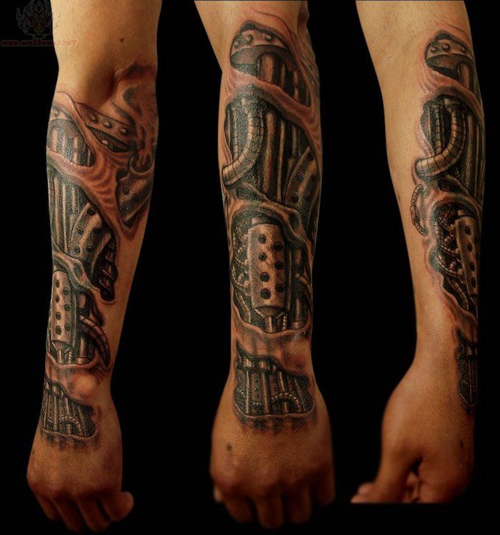 tattoo vorlagen m nner realistische 3d t towierung am unterarm tattoos pinterest tattoo. Black Bedroom Furniture Sets. Home Design Ideas