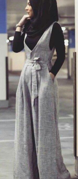 Model Baju Jumpsuit Hijab - BAJUKU