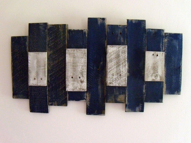 Pallet Wood Art Assemblage