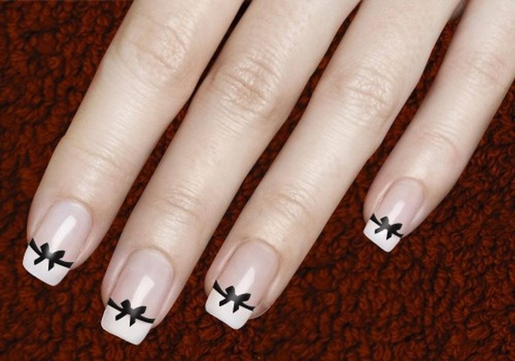 47 Cute Cool And Simple Bow Nail Art Design Ideas For Girls