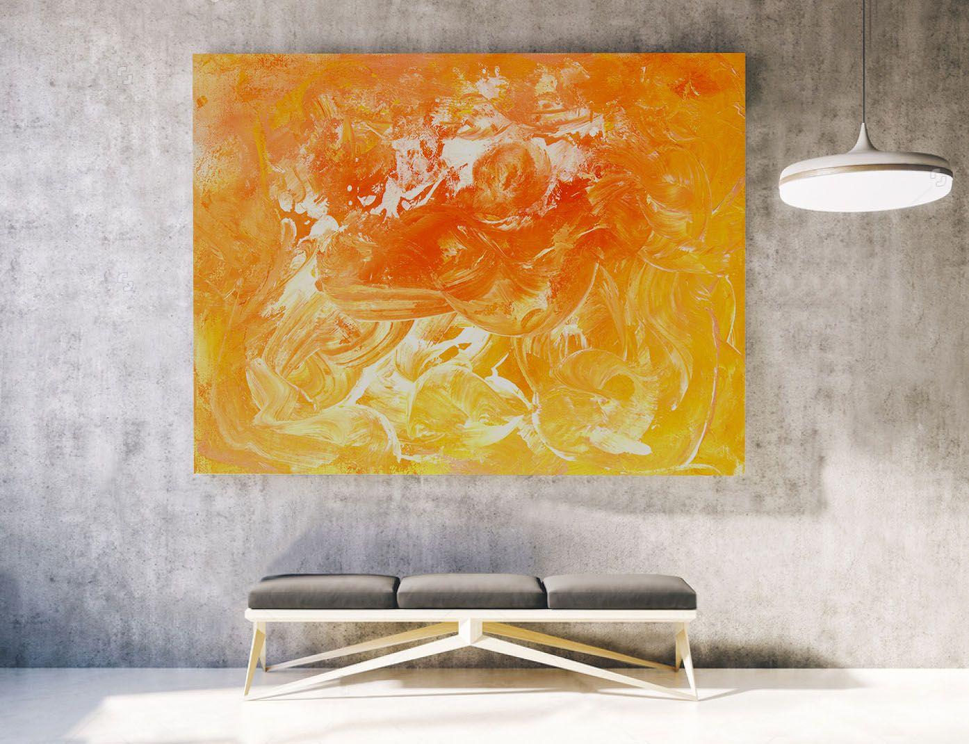 Large abstract painting acrylic canvas art livingroom decor landscape also rh pinterest