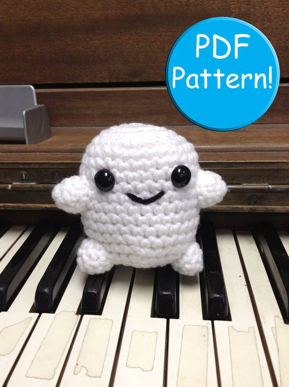 Pdf Pattern For Crochet Adipose Amigurumi Doll By Craftedcuteness
