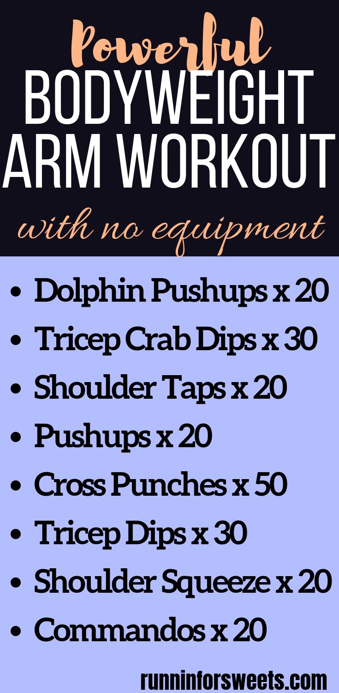 Powerful Bodyweight Arm Workout #beginnerarmworkouts