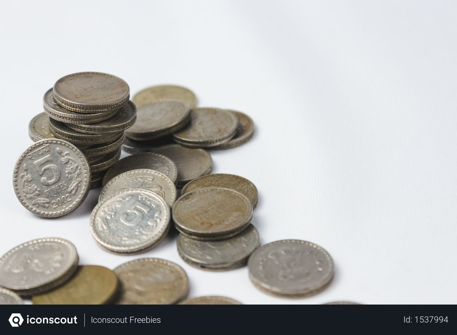 Free Indian Currency Coins On White Desk Photo Download In Png Jpg Format White Desks Coins Business Photos