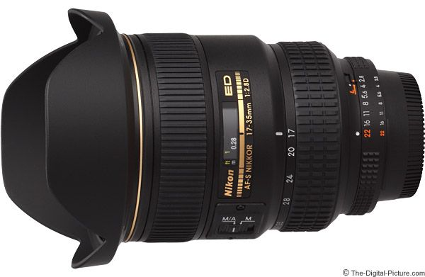 Nikon 17 35mm F 2 8d Af S Nikkor Lens Telephoto Zoom Lens Pentax Nikon Zoom Lens