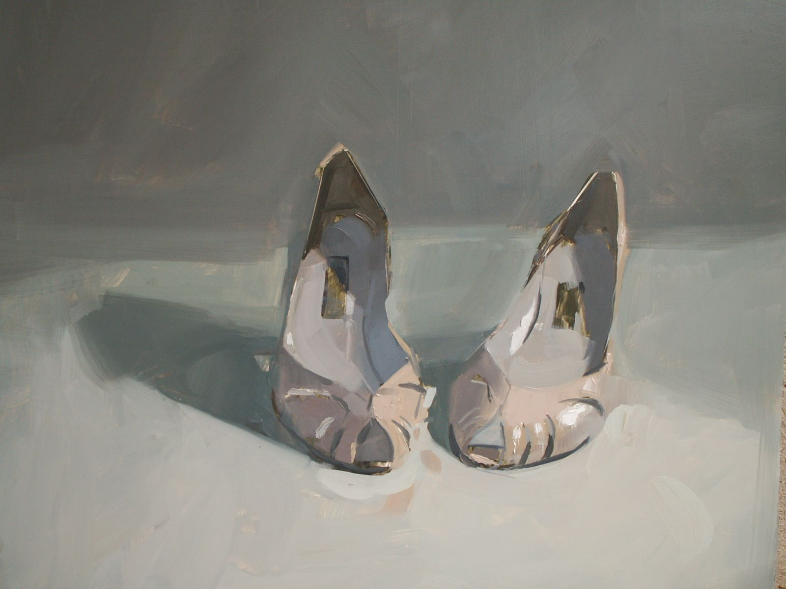 Paint What Makes Your Heart Hurt An Interview With Chelsea Bentley James Chelsea James Painted Shoes Shoe Image