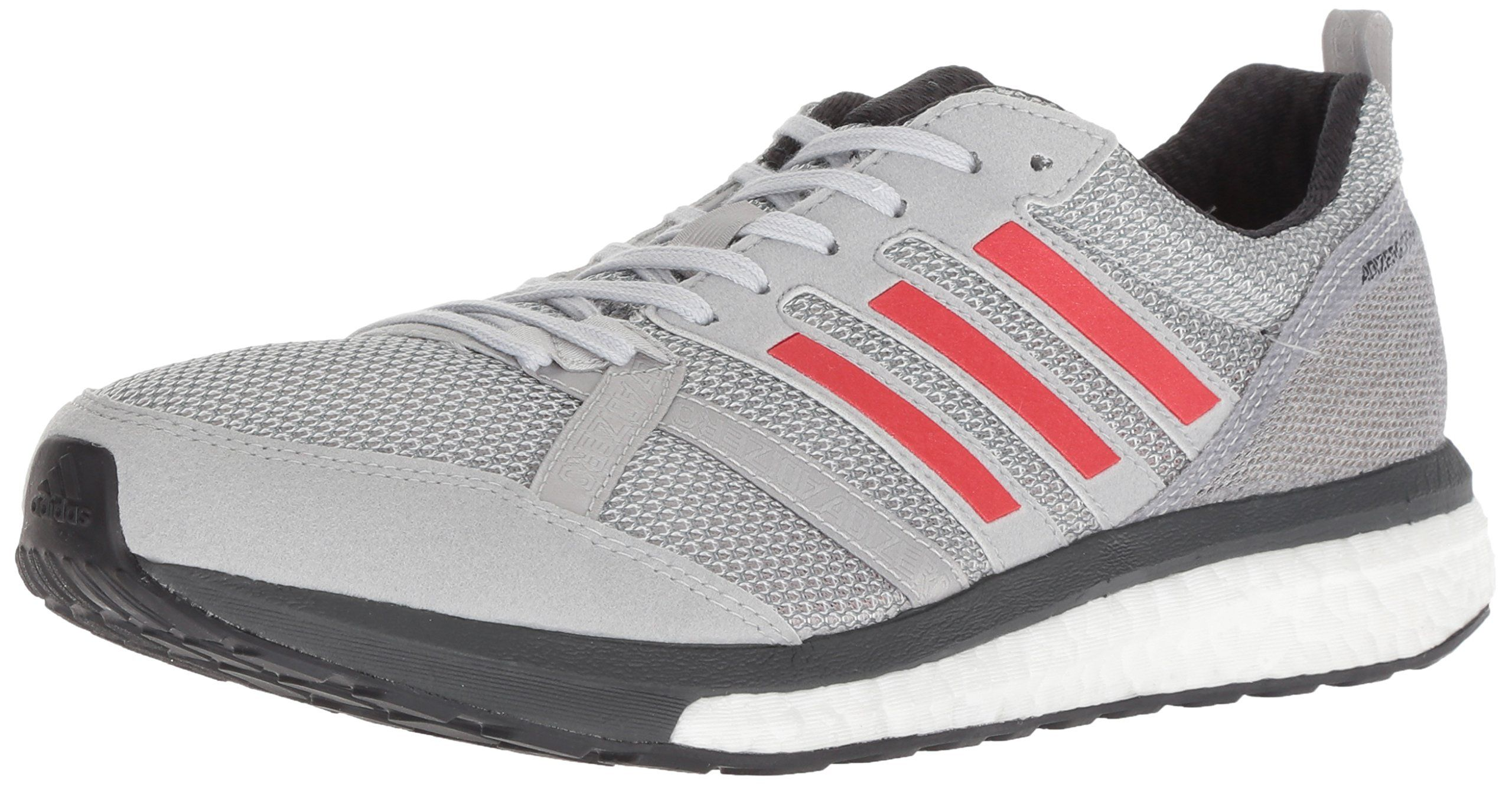 watch 08486 580cd adidas Mens Adizero Tempo 9 Running Shoe Grey hires red Carbon 10.5 M US --  Continue to the product at the image link-affiliate link.   adidasmenrunningshoes