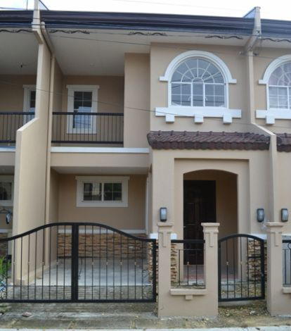 House Specs Two Storey Townhouse Floor Area 76sqm Lot Area 60 Sqm Two Bedrooms With Bedroom Closets Two Toilet And Bath Wi House Design House House Styles