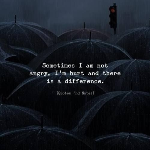 Best Life Quotes Sometimes I Am Not Angry I M Hurt And There Is A Difference Via Http Ift Tt 2ey7hg4 Understanding Quotes Life Quotes Hurt Quotes