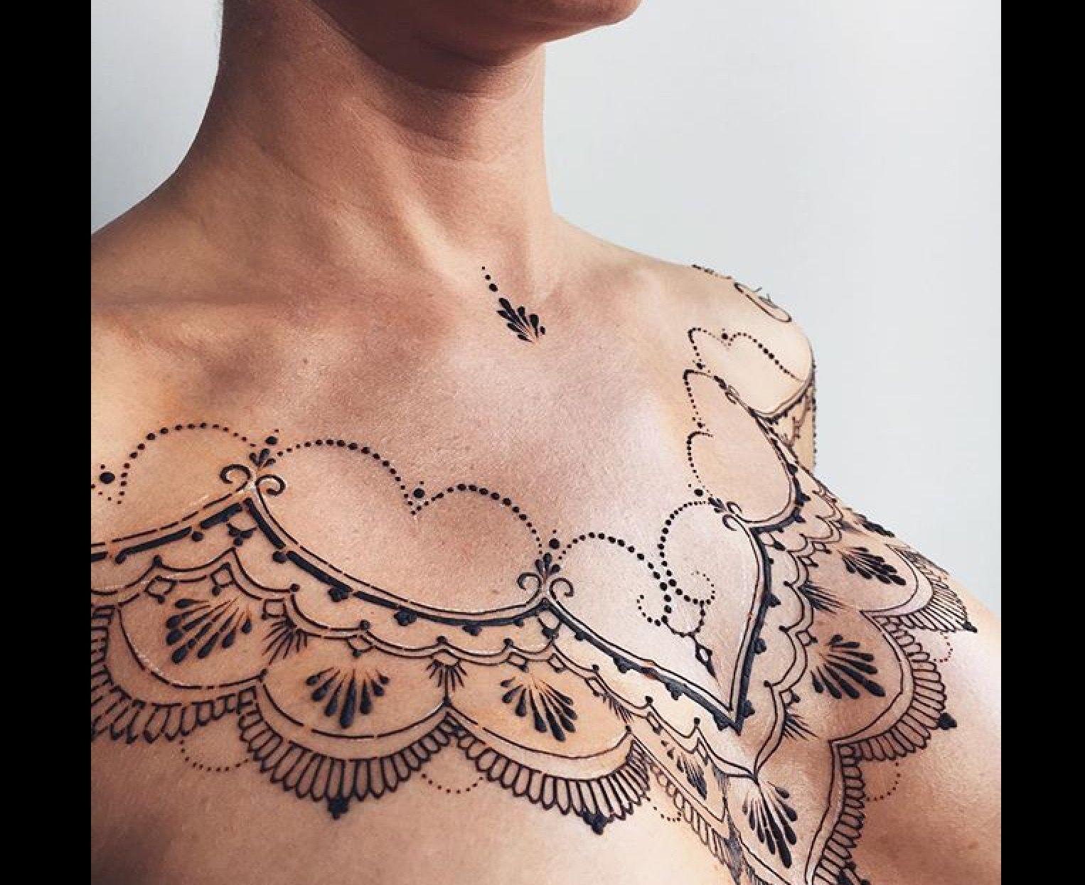 Chest Henna Henna Pinterest Henna Henna Designs And Tattoos