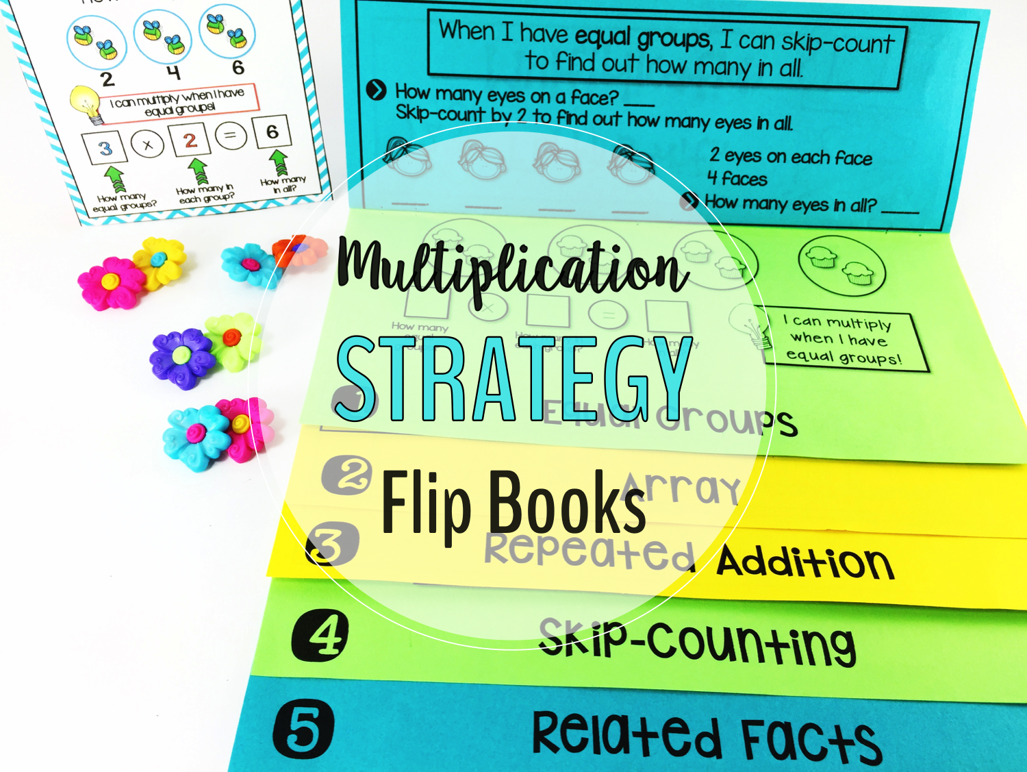 5 effective strategies for mastering multiplication facts these multiplication strategies interactive flip books and anchor posters will help your students understand the concept gamestrikefo Gallery