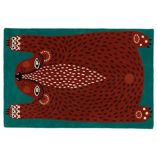 Don T Feed The Rug Bear The Land Of Nod Fall Collection I