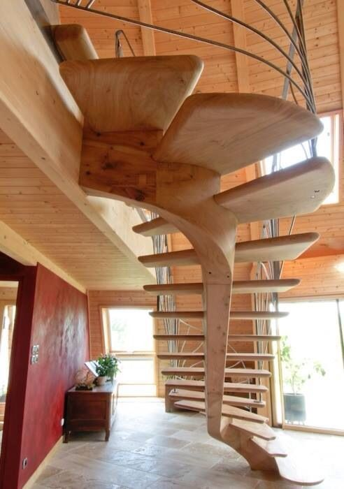 Best Cantilever Stairs From Heirloom Timber Framing Via Build 400 x 300