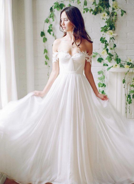 Wedding Dress Inspiration A Line Wedding Dress Bridal Dresses Wedding Dresses