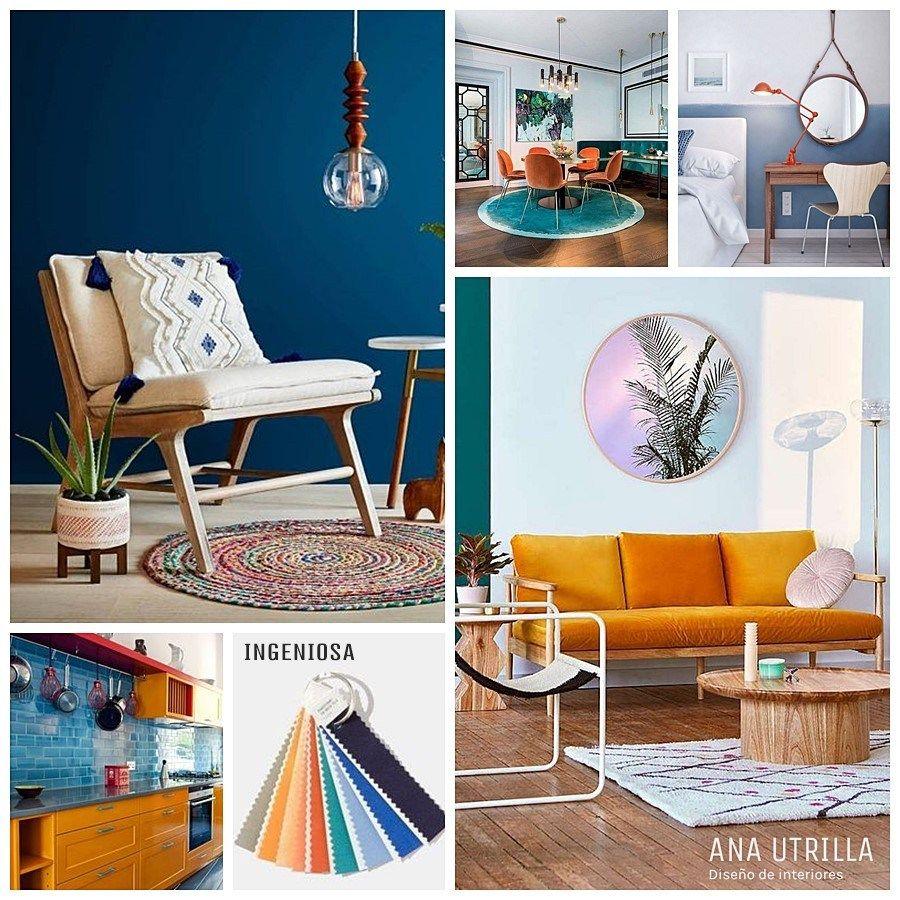 Paleta de colores pantone 2018 ingeniosa colores en for Decoracion de interiores tendencias 2018
