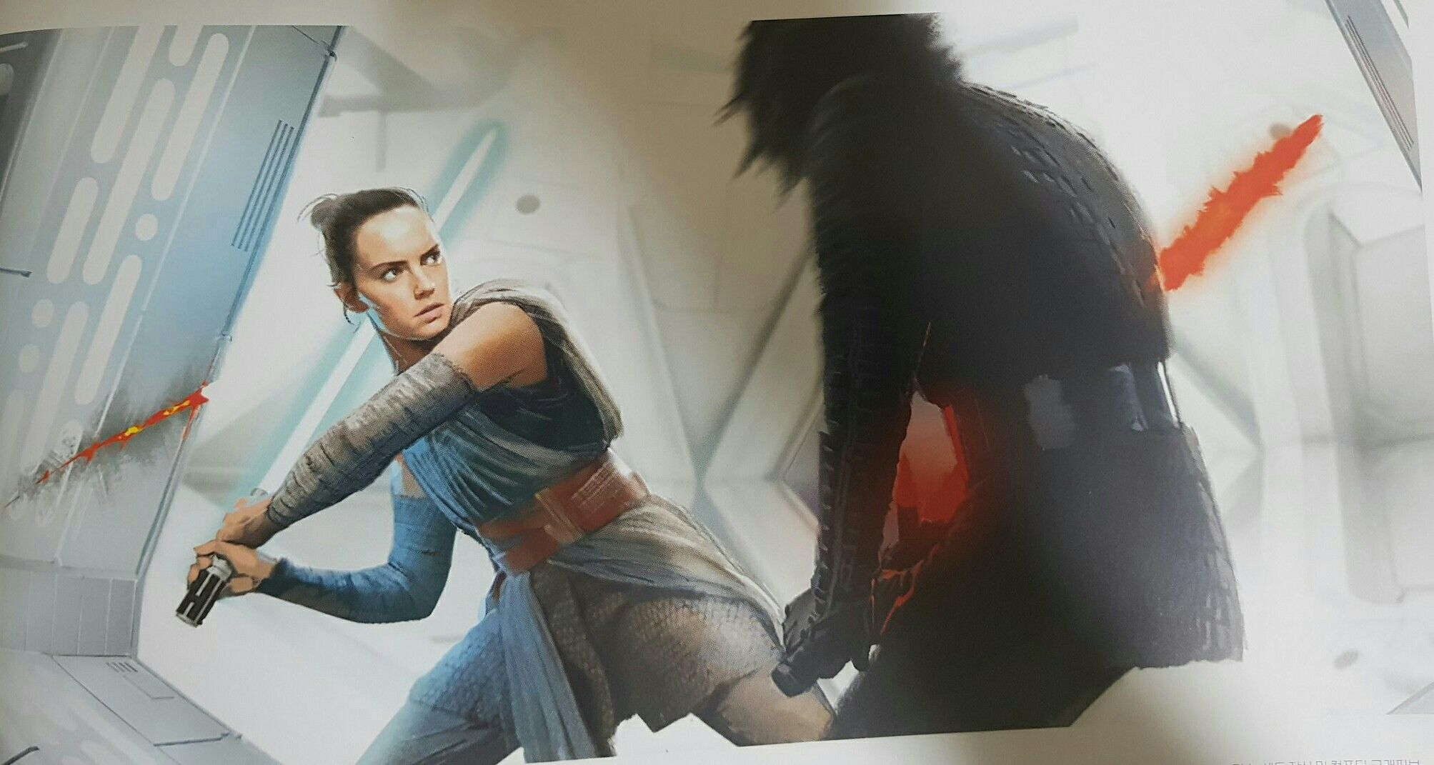 Rey Vs Kylo The Art Of The Rise Of Skywalker Korea Rey Starwars Theriseofskywalker Star Wars Books Star Wars Fandom Star Wars Novels