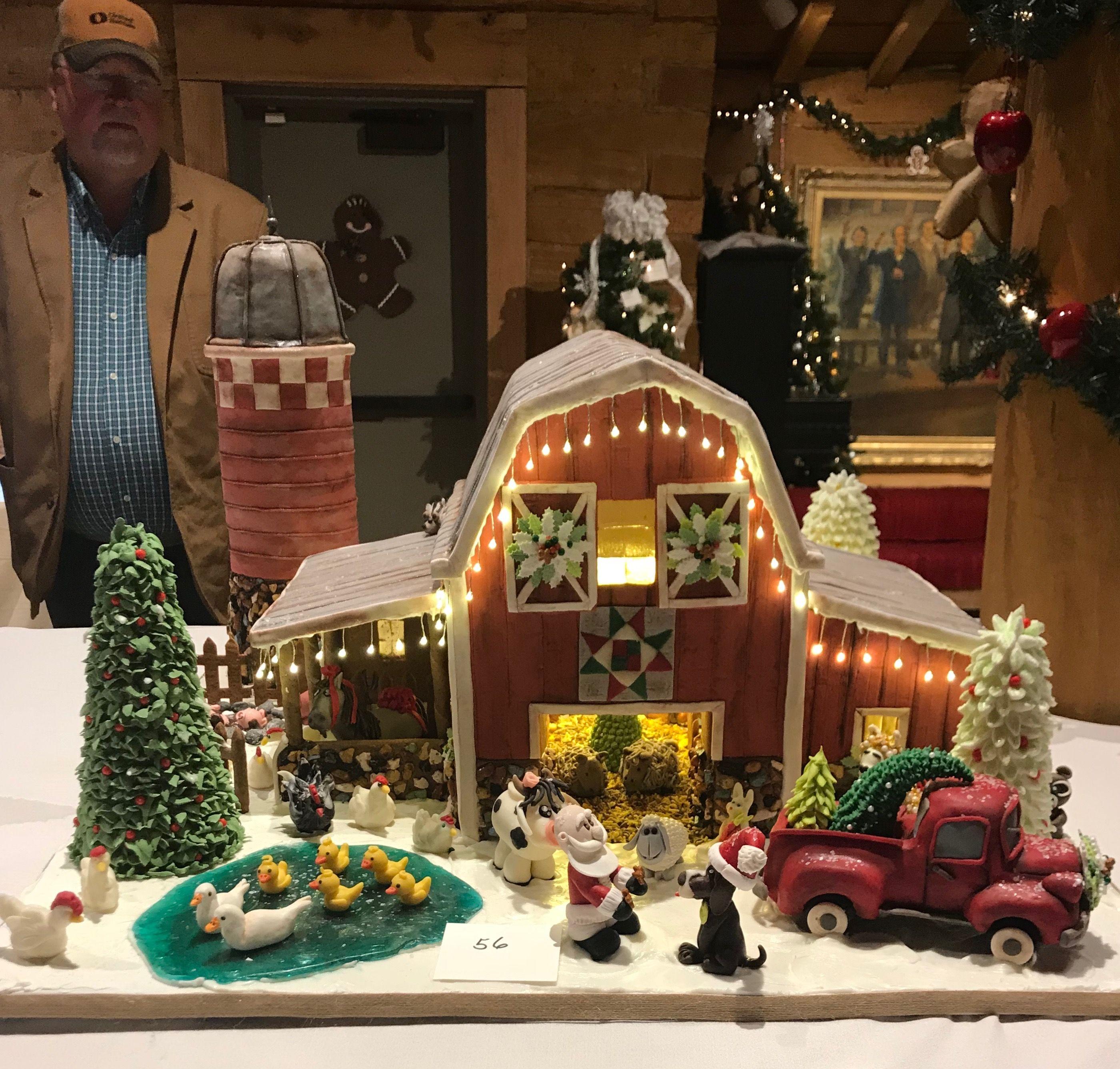 Food Porn Christmas Gingerbread Housechristmas