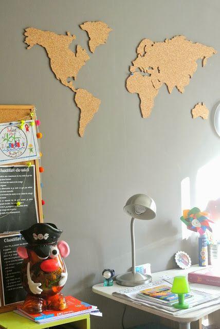 le grand bazaar objet d co du d sir 156 carte du monde en li ge loschy branding. Black Bedroom Furniture Sets. Home Design Ideas