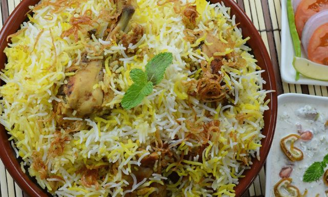 Just Food طريقة عمل برياني دجاج بالخضروات بالصور Biryani Recipe Chicken Biryani Recipe Biryani