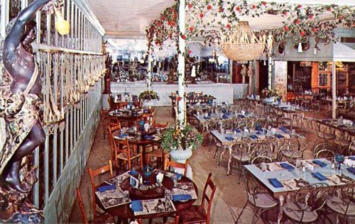 Peter Pan Inn Urbana Md A Dining Room In Its Heyday