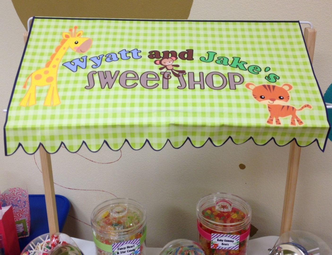 Mini Candy Market - Safari Sweet Shop