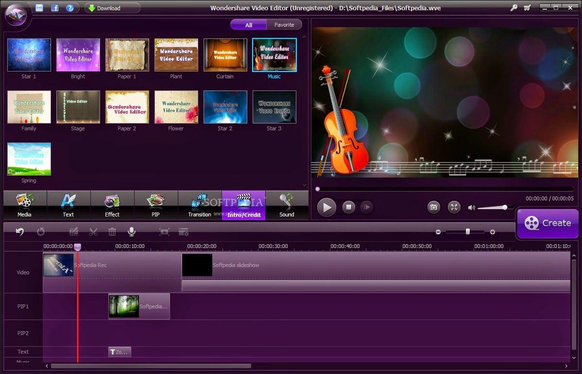 Wondershare Video Editor 3.0.0 full version Free Download