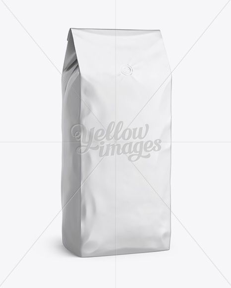 Download 2 5 Kg Matte Metallic Coffee Bag With Valve Mockup Half Turned View In Bag Sack Mockups On Yellow Images Object Mockups Matte Metallic Psd Template Free Mockup Free Psd