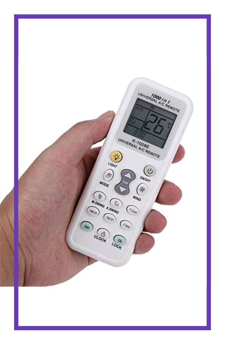 Coyaho Universal Air Conditioner Remote Control for Daikin