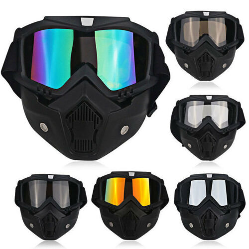 Details about Safety Face Eye Shield Mask Guard Goggles