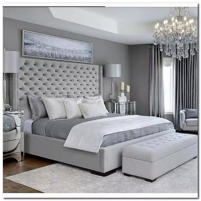 24 Traditional And Romantic Master Bedroom Ideas 7 Grey Bedroom