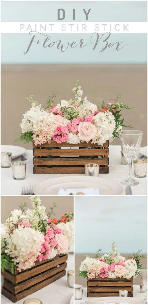 25 Wonderful Diy Rustic Wedding Decorations On A Budget Pinterest