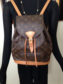 f1ed4fdf6ceda Louis Vuitton Montsouris Mm Backpack  614