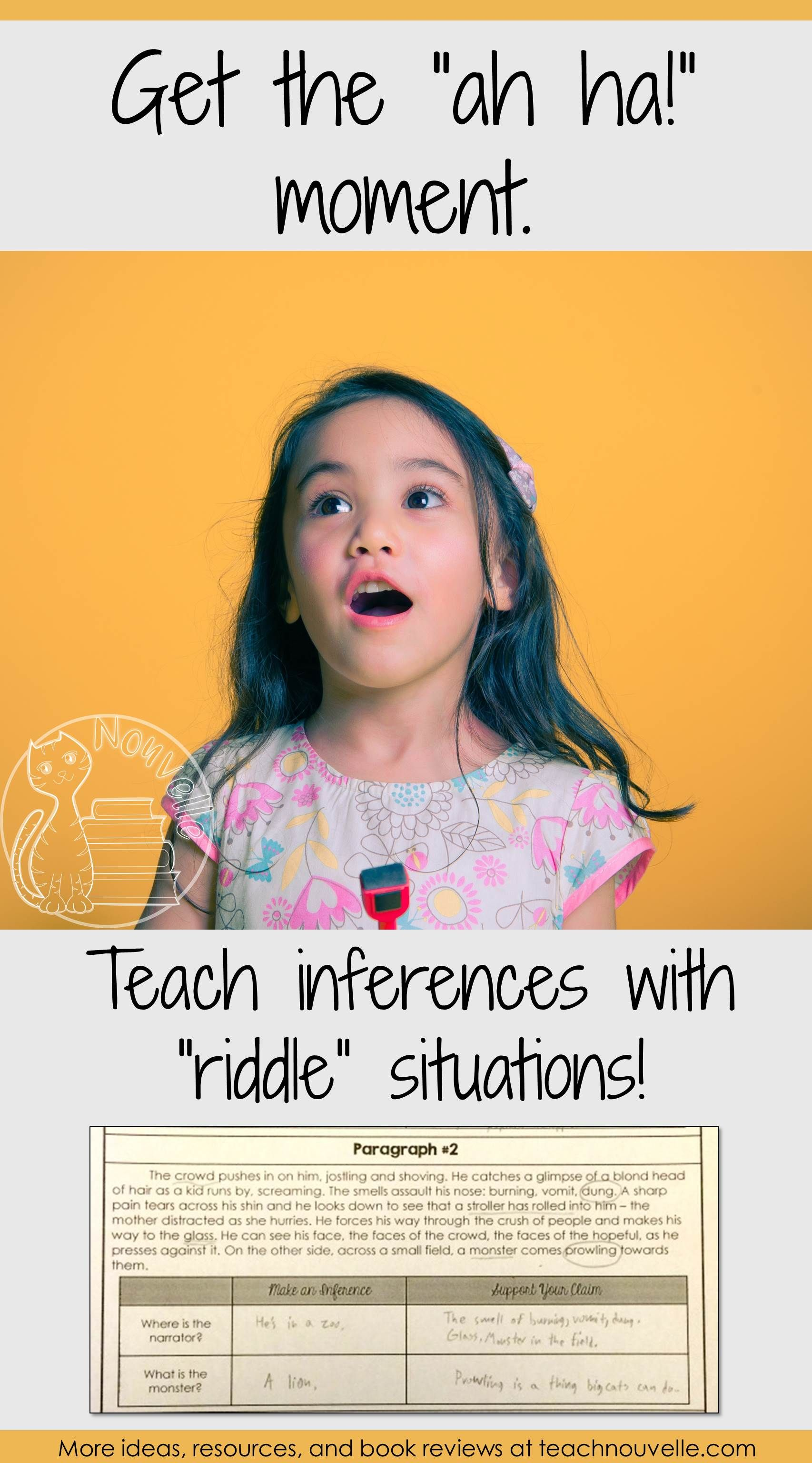 Do Your Students Need Practice Making Inferences Get Your