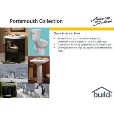 American Standard 7420 221 Portsmouth Centerset Bathroom Faucet