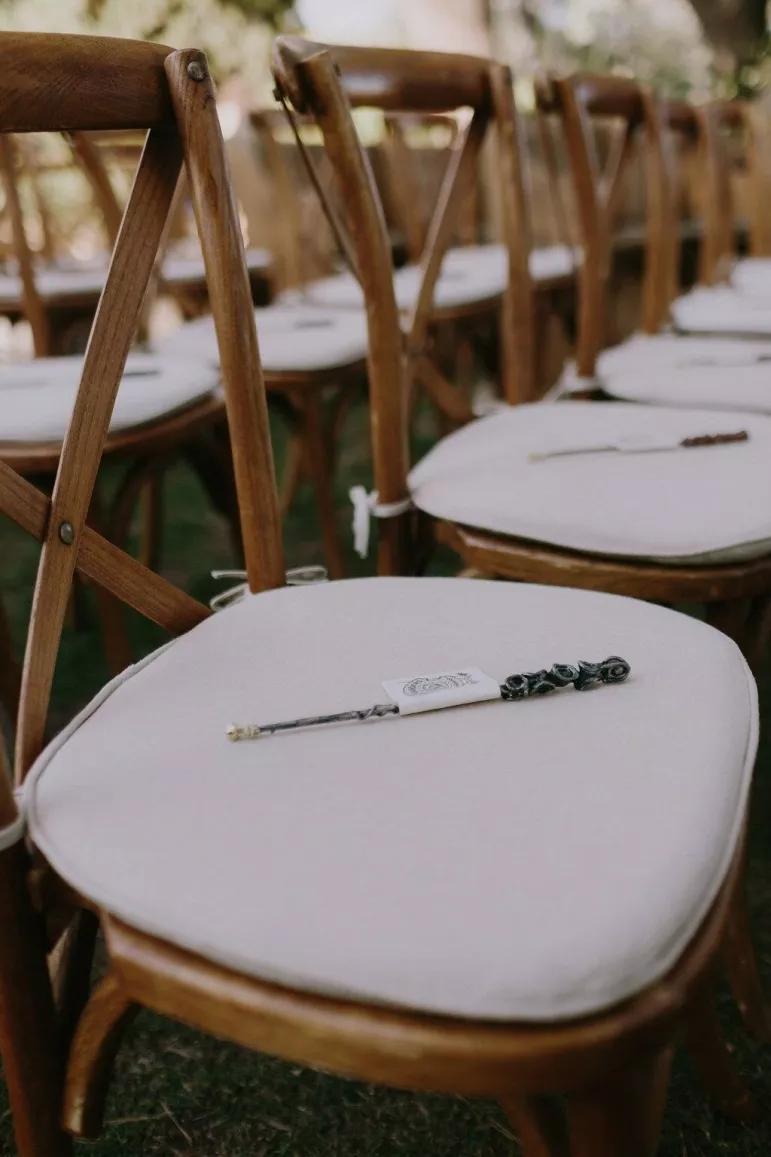 Esta boda inspirada en Harry Potter es tan linda, que cualquier muggle la envidiaría