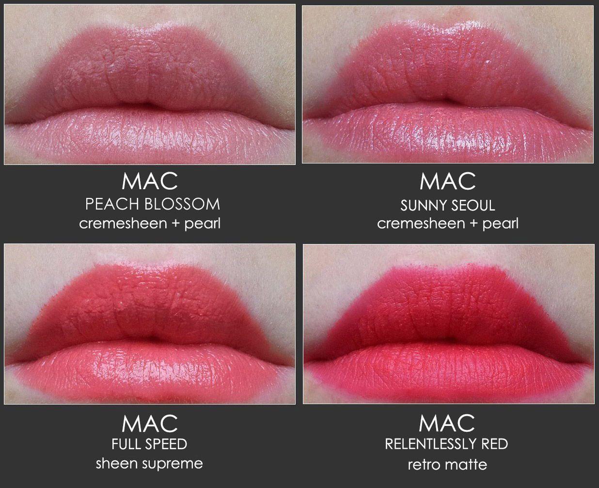 20 Mac lipstick swatched plus their dupes | Matejas Beauty Blog | Bloglovin