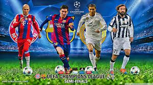 Champions League Barcelona To Play Juventus In Quarter Final Bayern Face Real Madrid Uefa Champions League Champions League Champions League Semi Finals
