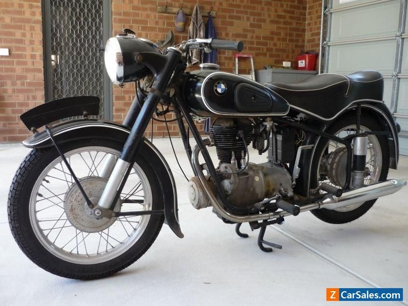 BMW R25/3 1955 250cc single Motorcycle NO FREE POSTAGE - PICK UP ...