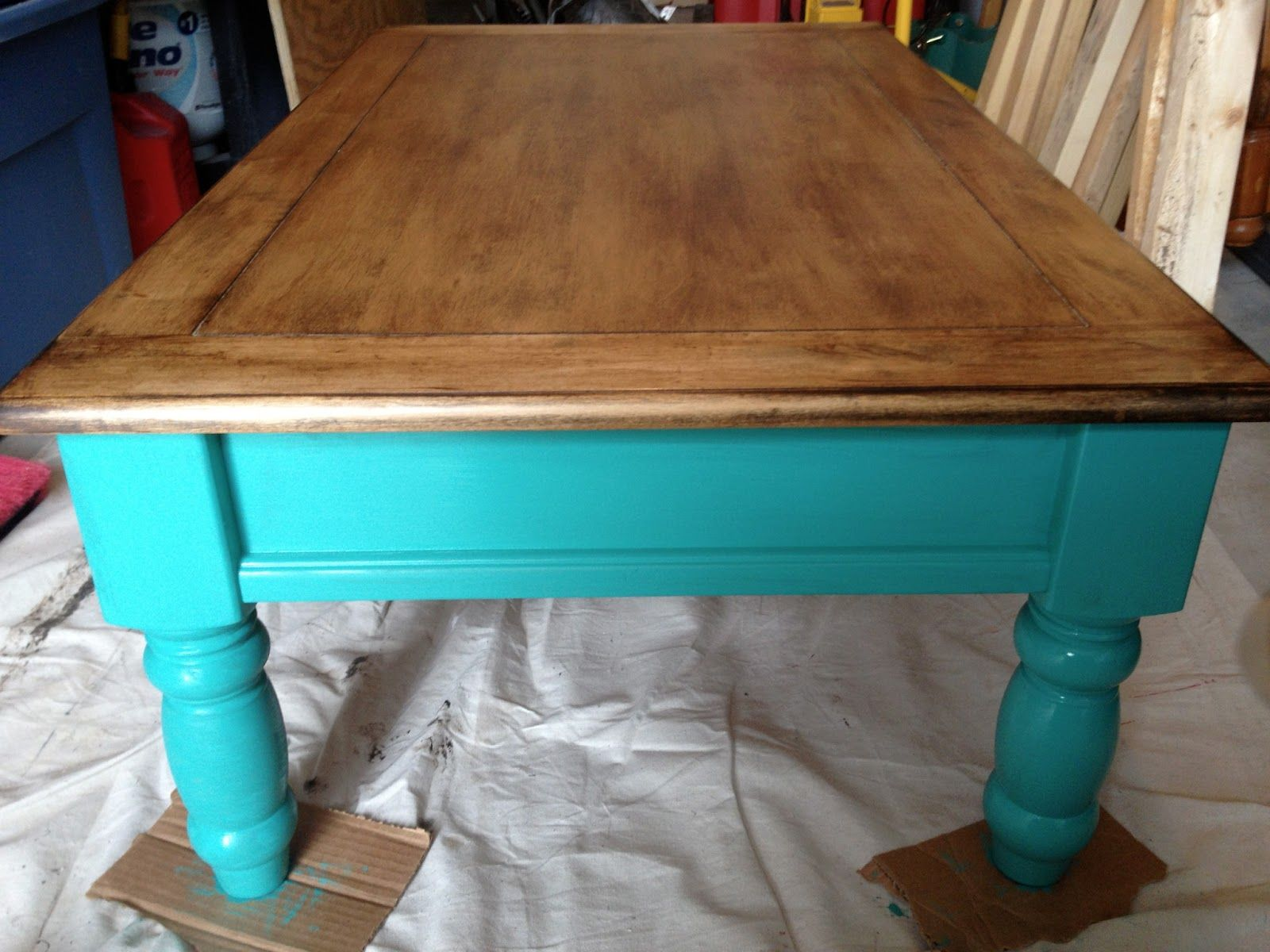 Coffe table before and after with annie sloan chalk paint florence coffe table before and after with annie sloan chalk paint florence with annie sloan dark wax geotapseo Images